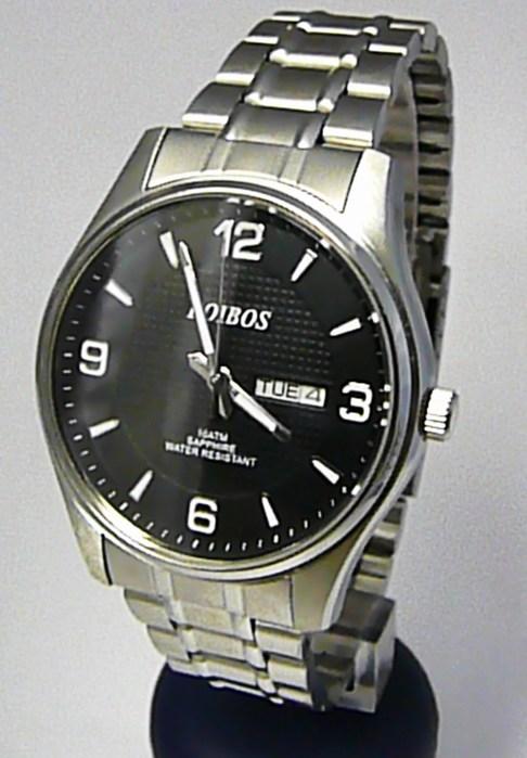 Vodotěsné ocelové pánské hodinky Foibos 6370.2 se safírovým sklem - 10ATM