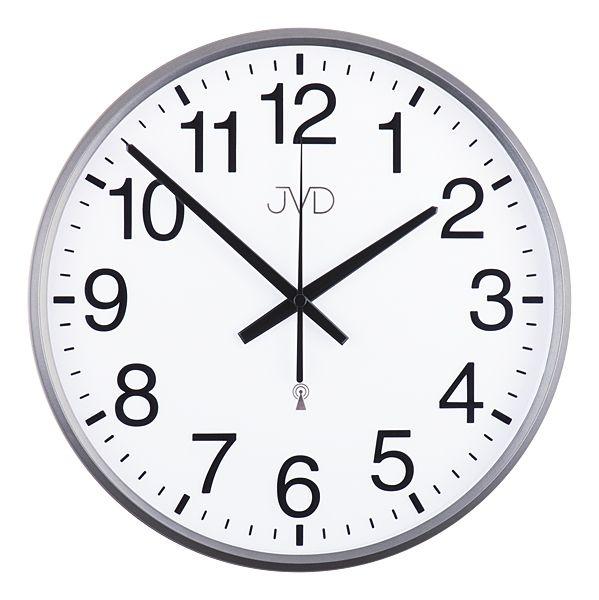 Rádiem řízené nástěnné hodiny JVD RH684.2 - řízené signálem DCF77