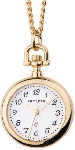 Luxusní švýcarské pánské kapesní hodinky Lacerta LK2