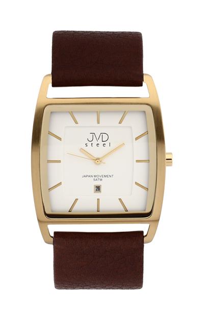 Ocelové moderní hodinky JVD steel J1060.2 - UNISEX - 5ATM