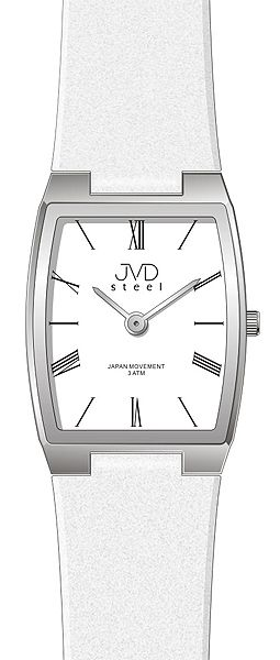 Dámské elegantní ocelové moderní hodinky JVD steel J4098.1