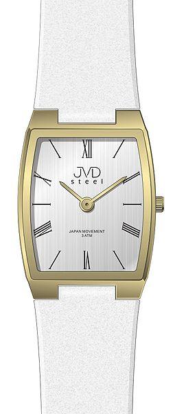 Dámské elegantní ocelové moderní hodinky JVD steel J4098.2