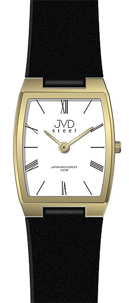 Dámské elegantní ocelové moderní hodinky JVD steel J4098.3