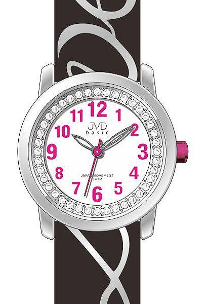 Dětské dívčí hodinky JVD basic J7138.3 pro zamilované děvčata nápis LOVE