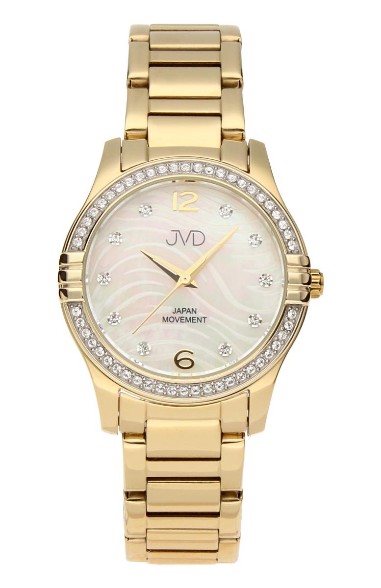 Šperkové perleťové nerezové dámské hodinky JVD JC164.2 - 5ATM