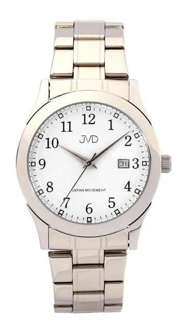 Pánské voděodolné ocelové hodinky JVD W85.1 - 5ATM