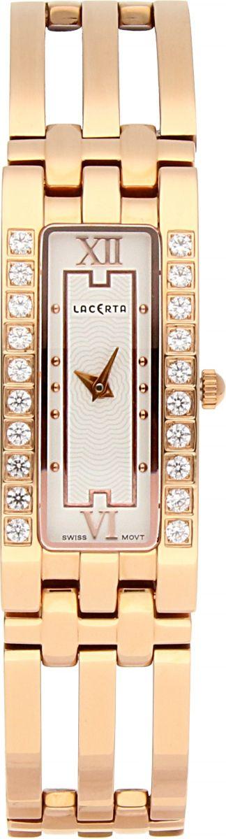 Dámské švýcarské šperkové hodinky Lacerta 751 D3 564 se safírovým sklem