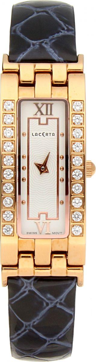 Dámské švýcarské šperkové hodinky Lacerta 751 D6 564 se safírovým sklem