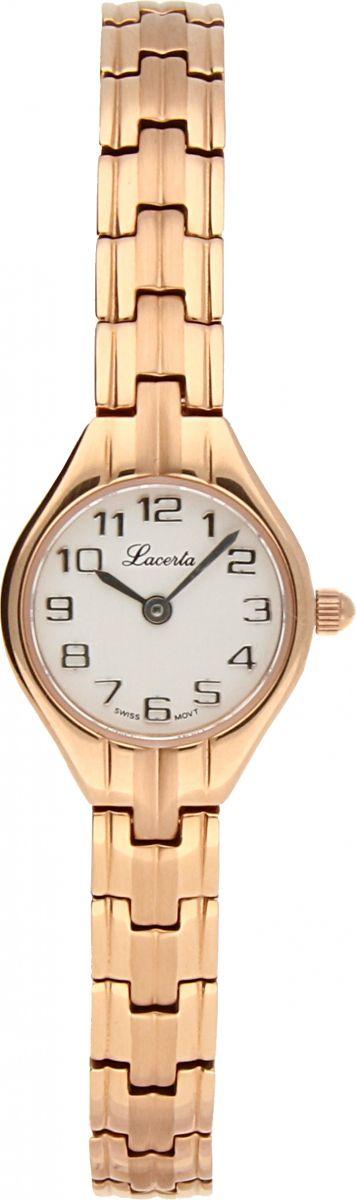 Dámské šperkové švýcarské hodinky Lacerta 762 S5 527 s arabskými číslicemi