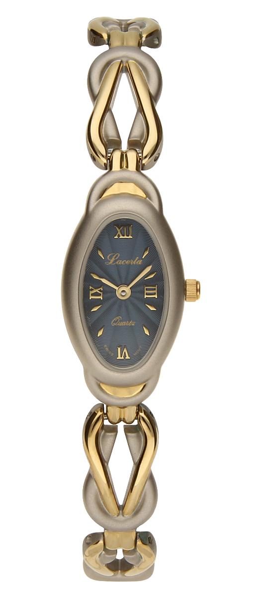 Dámské luxusní švýcarské ocelové hodinky Lacerta 751 244 64 se safírovým sklem
