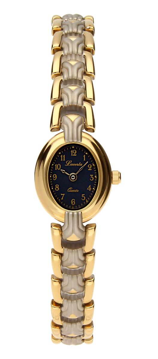 Dámské luxusní švýcarské ocelové hodinky Lacerta 751 270 55 se safírovým sklem