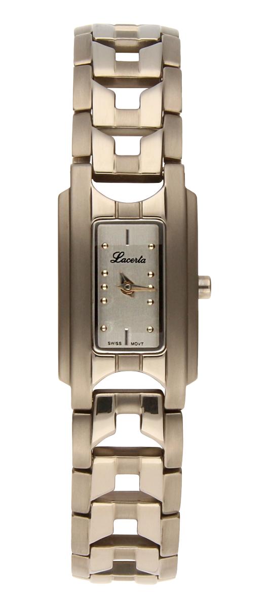 Dámské titanové švýcarské luxusní hodinky Lacerta 751 A8 542 se safírovým sklem