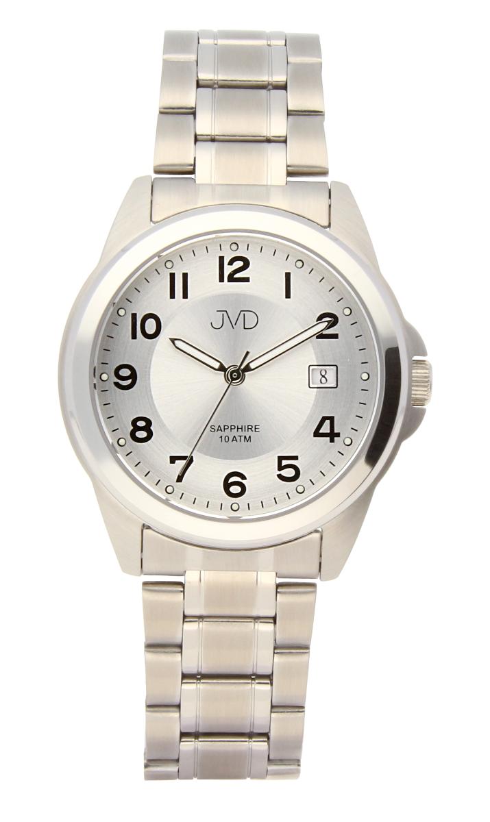 Pánské ocelové vodotěsné hodinky J1105.1 se safírovým sklem