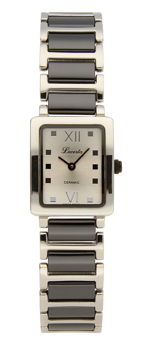 Dámské švýcarské luxusní hodinky Lacerta 751 482 K1 z nerezové oceli