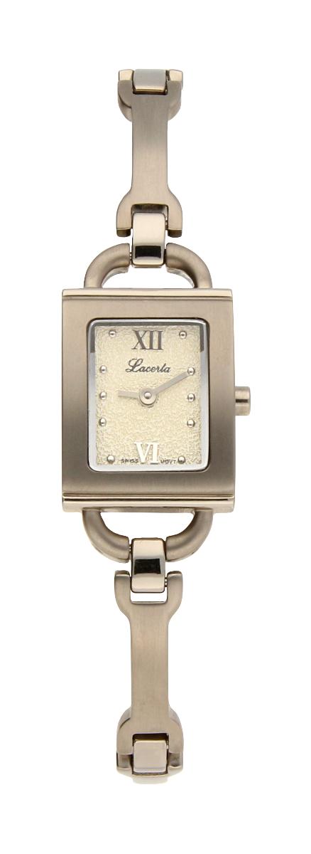 Titanové dámské švýcarské hodinky LACERTA 751 A6 536