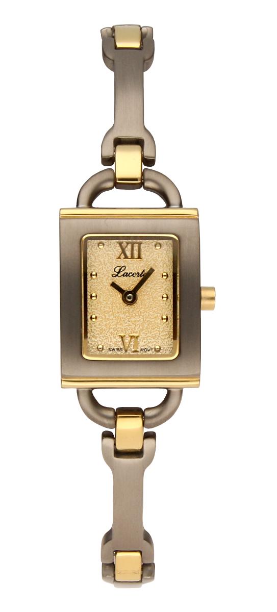 Titanové dámské švýcarské hodinky LACERTA 751 A7 538