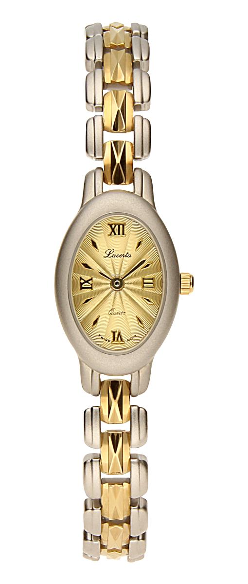 Dámské luxusní švýcarské ocelové hodinky Lacerta 751 251 40 se safírovým sklem