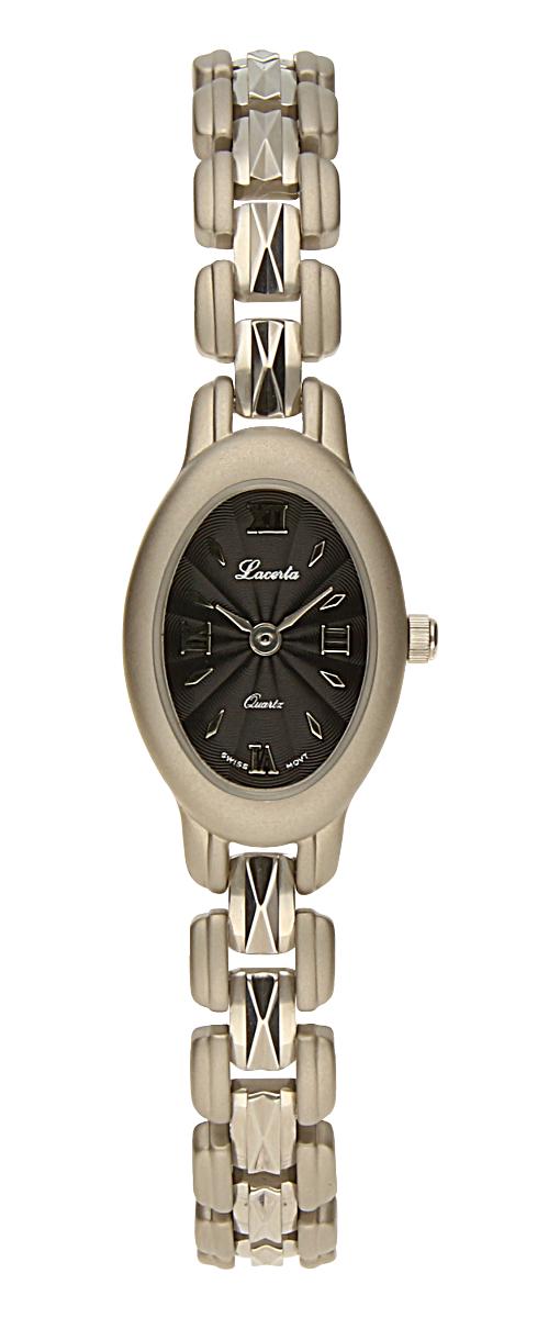 Dámské luxusní švýcarské ocelové hodinky Lacerta 751 258 39 se safírovým sklem