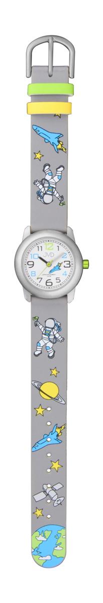 Dětské modré chlapecké hodinky JVD J7154.2 s kosmonautem