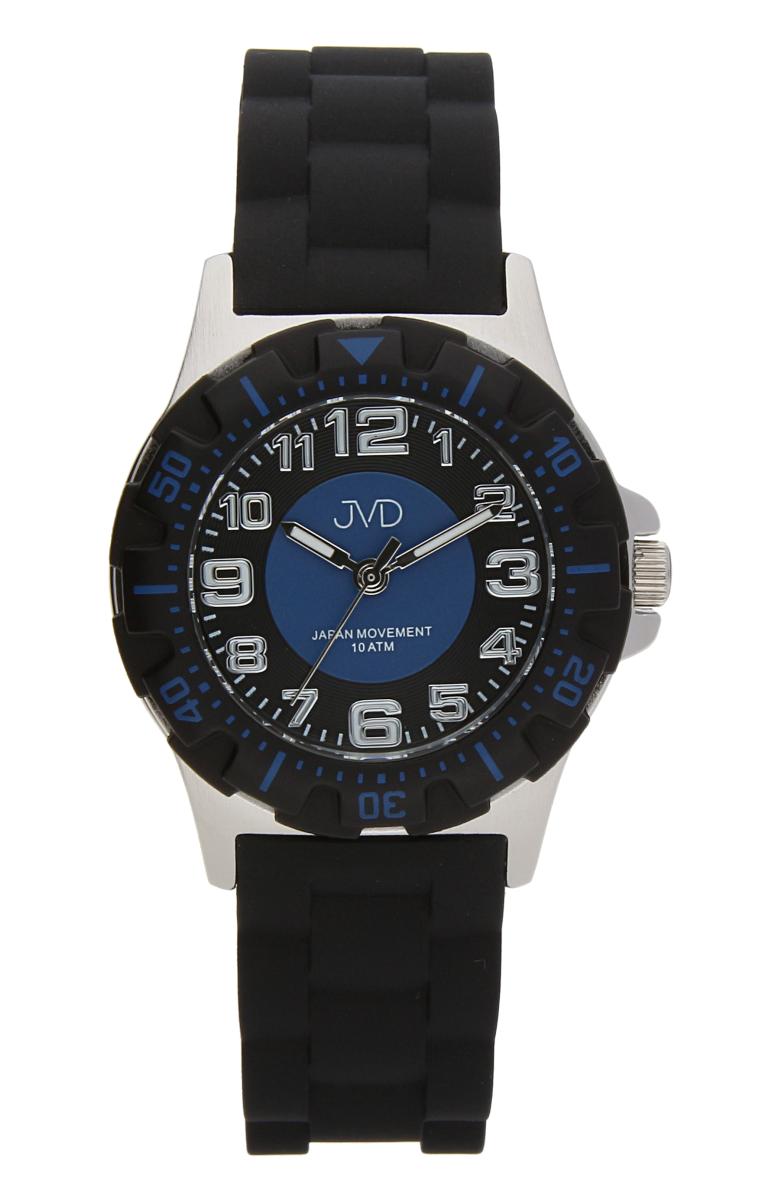 Chlapecké dětské vodotěsné sportovní hodinky JVD J7168.2 - 10ATM