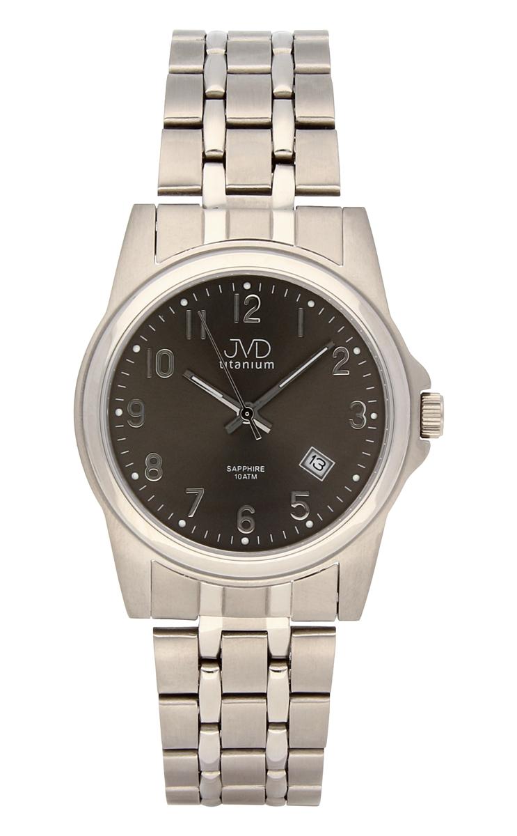 Pánské titanové antialergické vodotěsné hodinky J2005.3 se safírovým sklem 10ATM