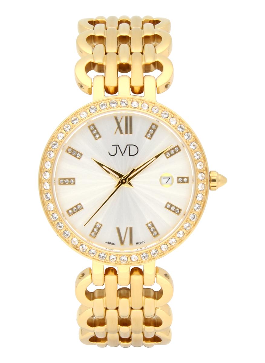 Šperkové ocelové dámské zlacené IPGOLD hodinky J1330.3 s římskými číslicemi