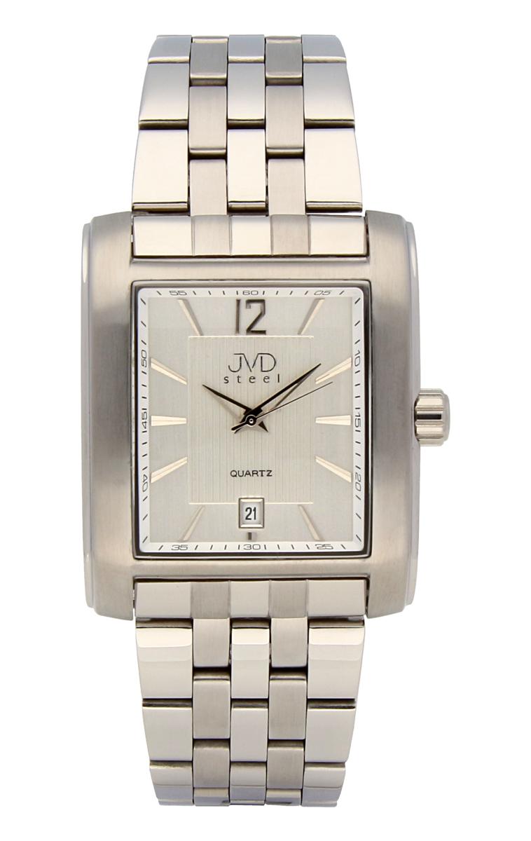 Pánské voděodolné ocelové hodinky JVDF 85.1