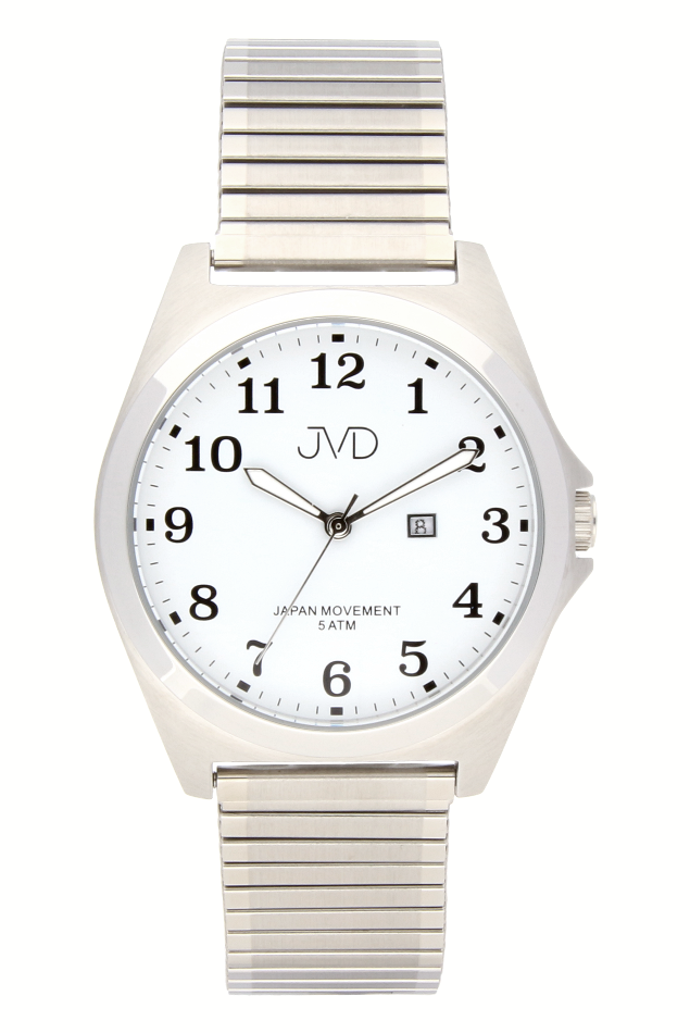 Pánské nerezové voděodolné hodinky J1106.1 na natahovacím pásku IPGold