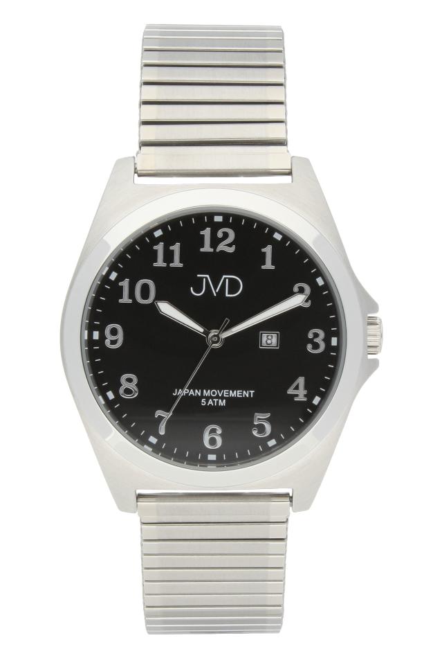 Pánské nerezové voděodolné hodinky J1106.2 na natahovacím pásku IPGold