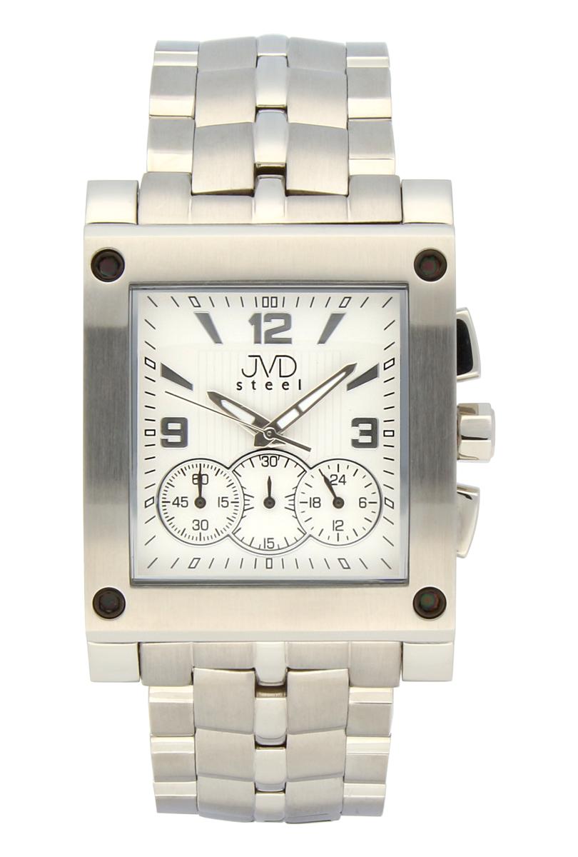 Ocelové pánské hodinky JVDC 705.1 - chronograf se stopkami