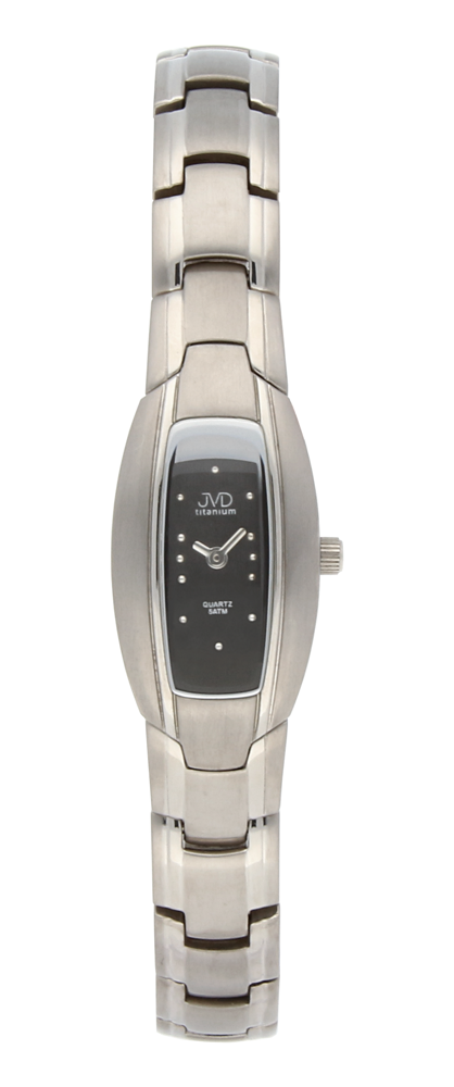 Dámské titanové antialergické náramkové hodinky JVD 328