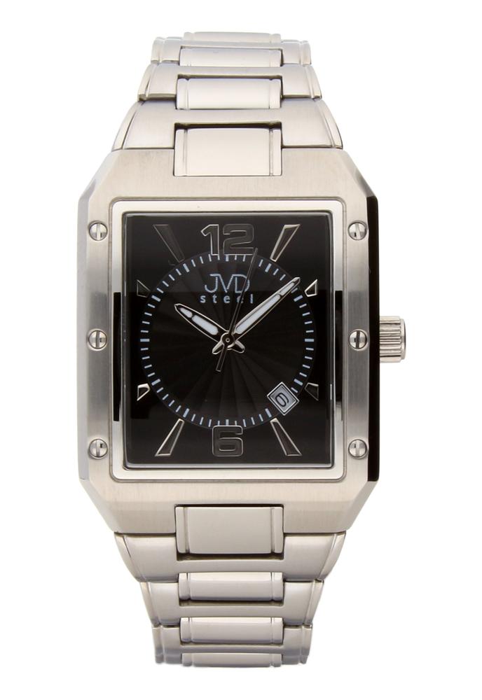 Ocelové unisex nerezové áramkové moderní hodinky JVDC 1185.2