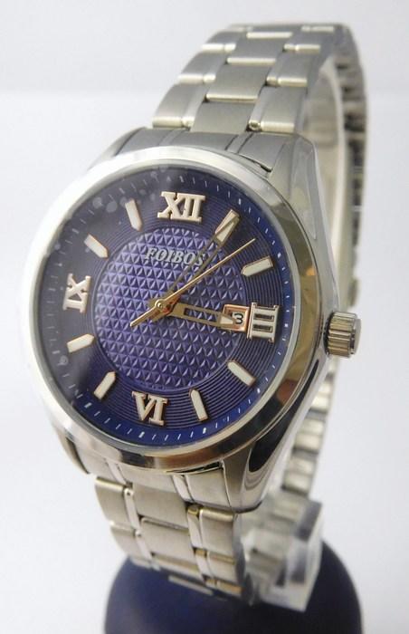 Dámské ocelové kvalitní hodinky Foibos 1Y43 s římskými číslicemi