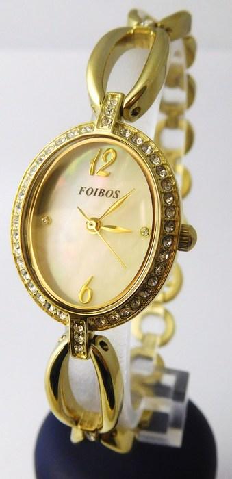 Dámské ocelové kvalitní hodinky Foibos 3B45 (šperkovné s kamínky) (POŠTOVNÉ ZDARMA!!!)