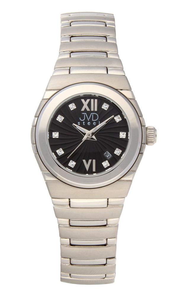 Dámské ocelové čitelné hodinky JVDC 1117.2