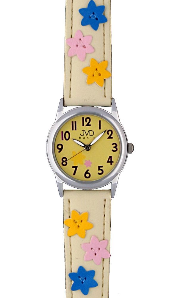 Klasické dětské kožené hodinky JVD basic JVD W65.2