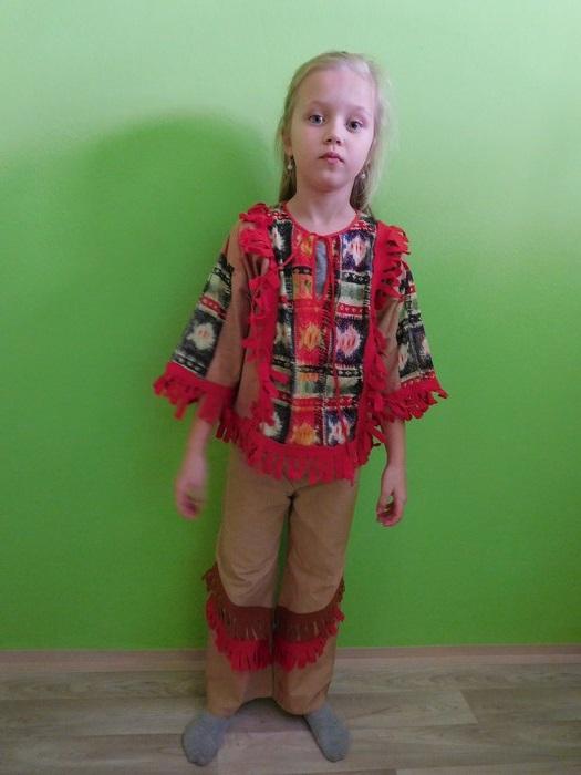 Dětský maškarní kostým pro kluky i holky - Indián/ka III. (Cena za půjčovné na 1-3 dny nebo víkend:)