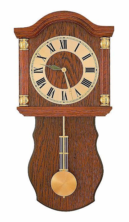 Německé luxusní dřevěné kyvadlové hodiny ASSO A17/236/4 - pendlovky