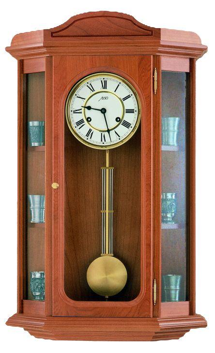 Německé luxusní dřevěné kyvadlové hodiny ASSO A19/235/2 - pendlovky