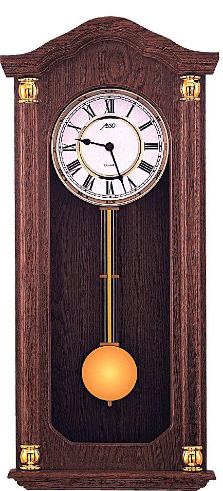 Německé luxusní dřevěné kyvadlové hodiny ASSO A19/294/3 - pendlovky