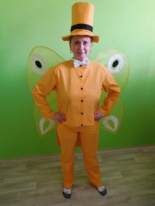 Maškarní kostým Motýl Emanuel (Cena za půjčovné na 1-3 dny nebo víkend:)