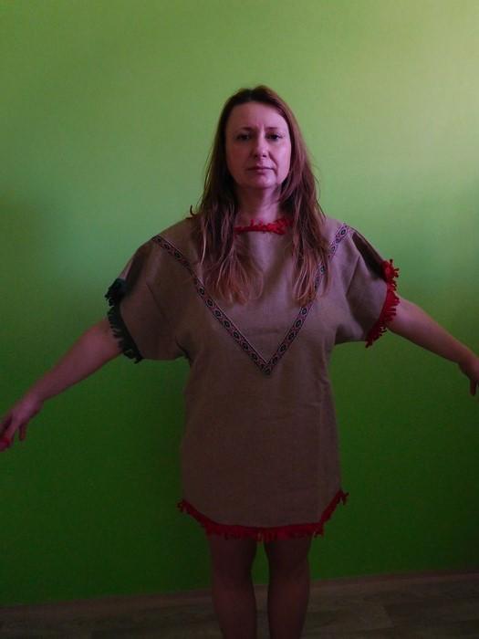 Dámský maškarní kostým Indiánka II.