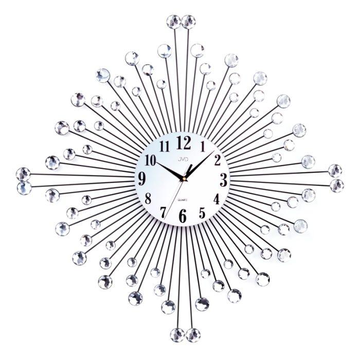 Obrovské velké paprskovité sluníčkové nástěnné designové hodiny HJ77