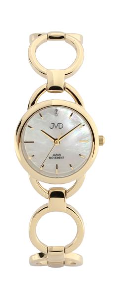 Dámské nerezové šperkové náramkové hodinky JC115.1 - ZLACENÉ