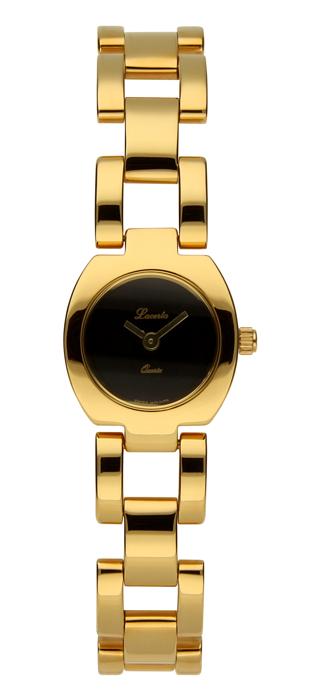 Dámské zlacené hodinky Lacerta 732 022 03