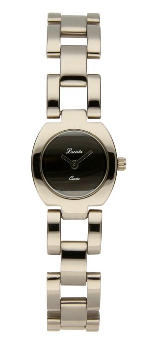 Dámské stříbrné hodinky Lacerta 732 027 04