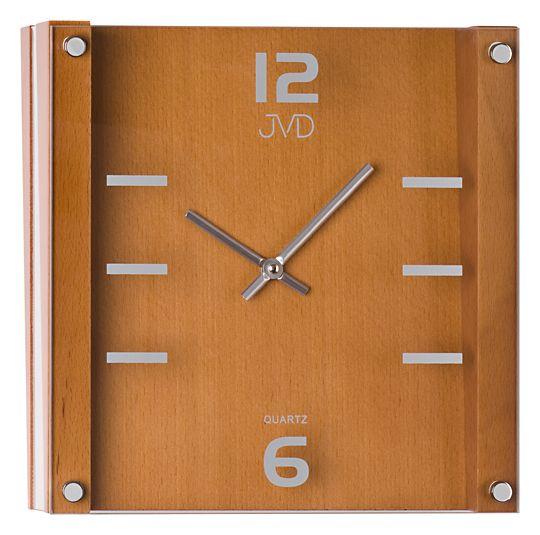 Nástěnné hodiny JVD N1176/41 - dřevěné