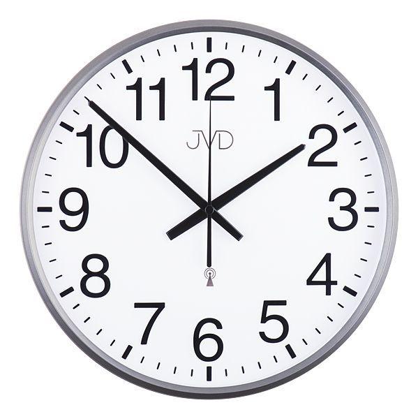 Rádiem řízené nástěnné hodiny JVD RH684.3 (řízené signálem DCF77)