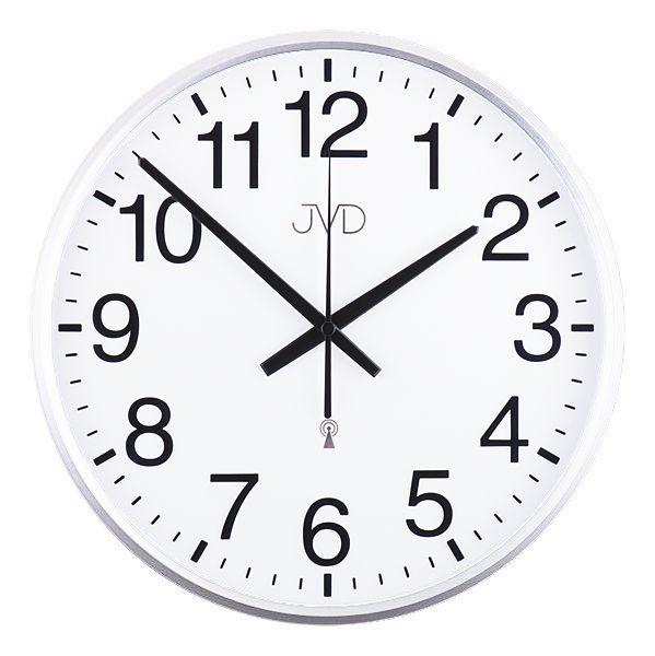 Rádiem řízené nástěnné hodiny JVD RH684.4 (řízené signálem DCF77)