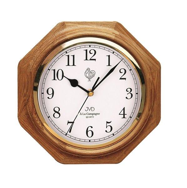 Dřevěné nástěnné hodiny JVD N71.1 - ODESÍLÁME ZDARMA!